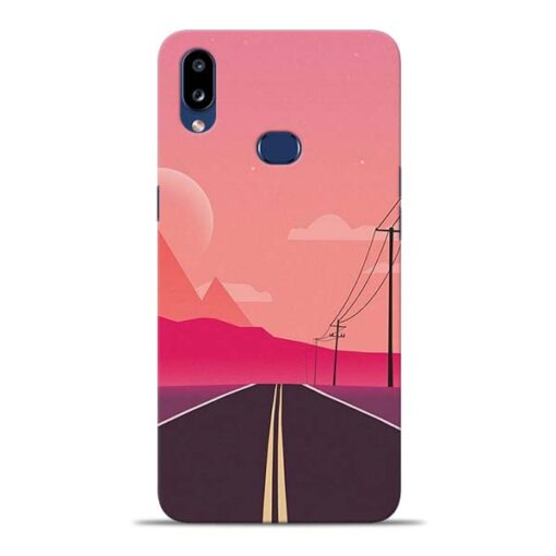 Pink Road Samsung Galaxy A10s Back Cover