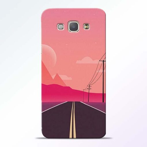 Pink Road Samsung Galaxy A8 2015 Back Cover