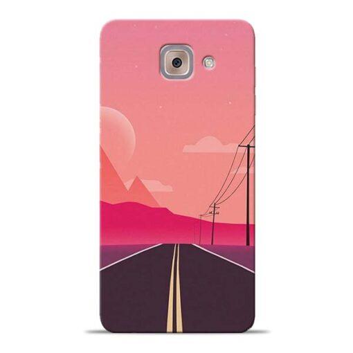 Pink Road Samsung Galaxy J7 Max Back Cover