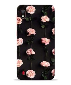 Pink Rose Samsung Galaxy A10 Back Cover