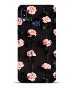 Pink Rose Samsung Galaxy A10s Back Cover