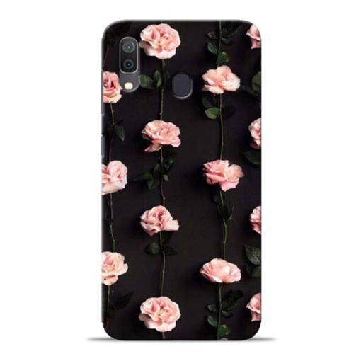 Pink Rose Samsung Galaxy A30 Back Cover