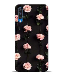 Pink Rose Samsung Galaxy A50 Back Cover