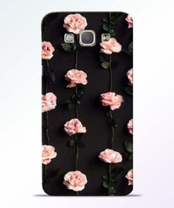 Pink Rose Samsung Galaxy A8 2015 Back Cover