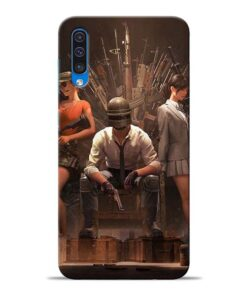 Pubg Girl Samsung Galaxy A50 Back Cover