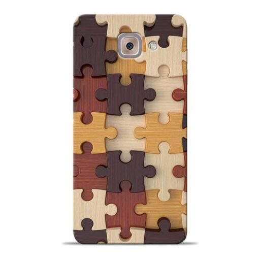 Puzzle Pattern Samsung Galaxy J7 Max Back Cover