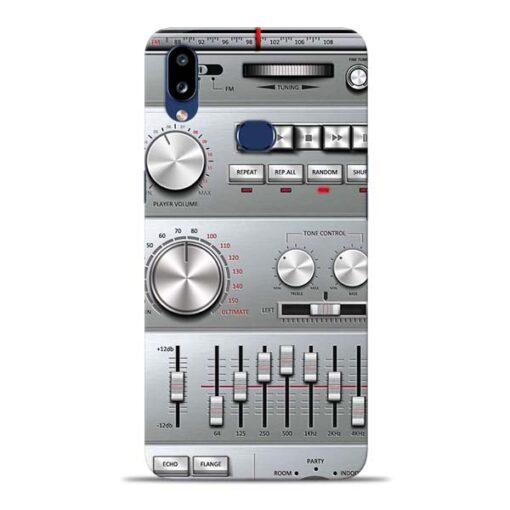 Radio Beat Samsung Galaxy A10s Back Cover