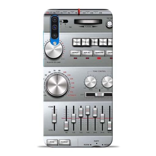 Radio Beat Samsung Galaxy A50 Back Cover