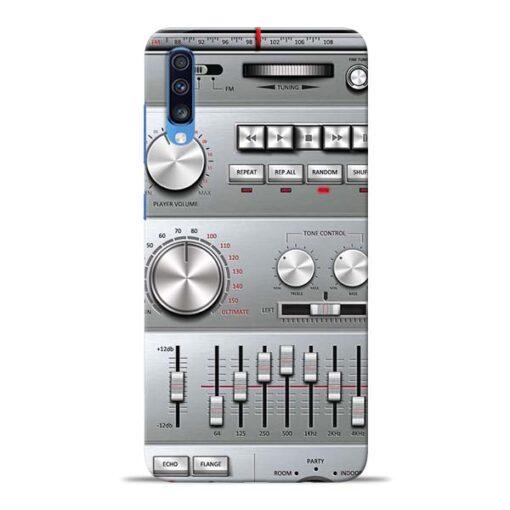 Radio Beat Samsung Galaxy A70 Back Cover