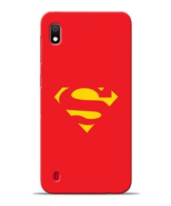 Red Super Samsung Galaxy A10 Back Cover