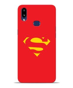 Red Super Samsung Galaxy A10s Back Cover