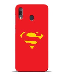 Red Super Samsung Galaxy A30 Back Cover