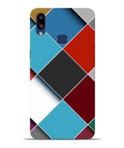 Square Check Samsung Galaxy A10s Back Cover