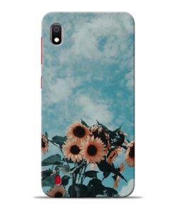 Sun Floral Samsung Galaxy A10 Back Cover