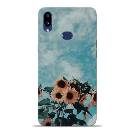 Sun Floral Samsung Galaxy A10s Back Cover