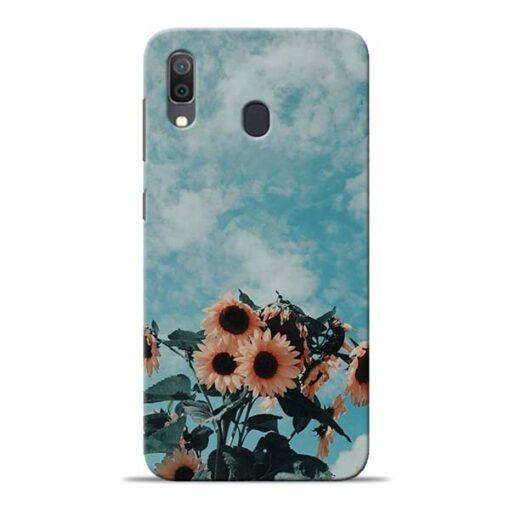 Sun Floral Samsung Galaxy A30 Back Cover