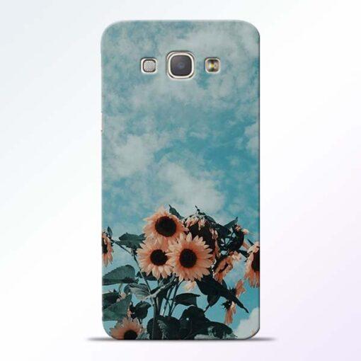 Sun Floral Samsung Galaxy A8 2015 Back Cover