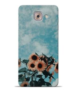 Sun Floral Samsung Galaxy J7 Max Back Cover