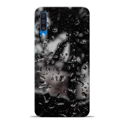 Water Drop Samsung Galaxy A50 Back Cover