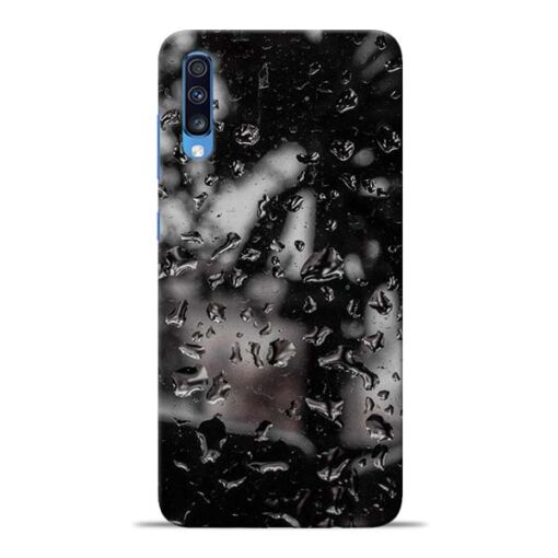 Water Drop Samsung Galaxy A70 Back Cover