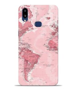 World Map Samsung Galaxy A10s Back Cover