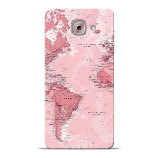 World Map Samsung Galaxy J7 Max Back Cover