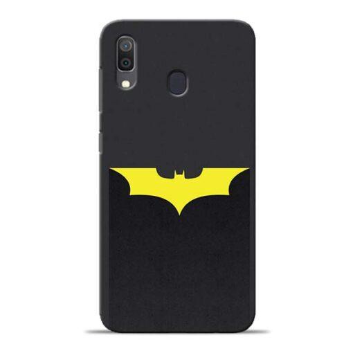 Yellow Bat Samsung Galaxy A30 Back Cover