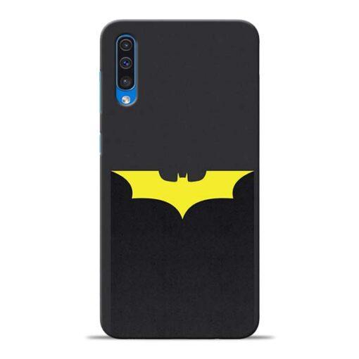 Yellow Bat Samsung Galaxy A50 Back Cover