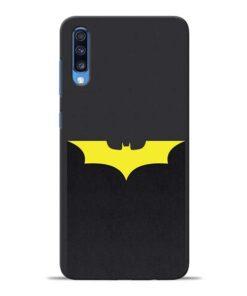 Yellow Bat Samsung Galaxy A70 Back Cover