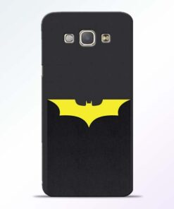 Yellow Bat Samsung Galaxy A8 2015 Back Cover