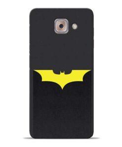 Yellow Bat Samsung Galaxy J7 Max Back Cover